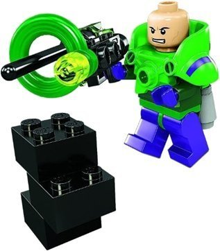 LEX LUTHOR Minifigure 30164 EXCLUSIVE PROMO Luther LEGO Super Heroes LEGO Batman 2