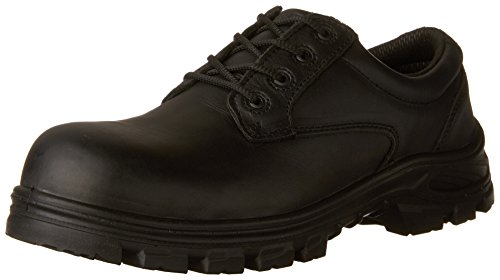 Kodiak Steel Toe Shoes - Terra Men's Albany Military & Tactical Boot, Black, 11 M US
