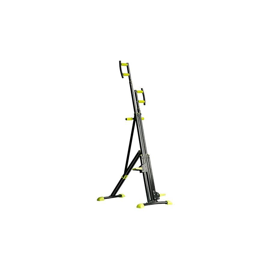 Merax Vertical Climber Exercise Folding Climbing Machine For Home Gym Cardio Workout
