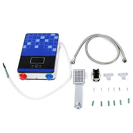 GW 220V 6500W Calentador de Agua Caliente instantáneo eléctrico ...