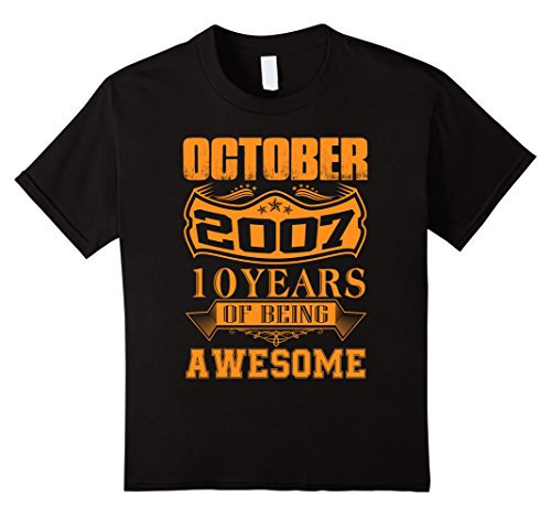 Kids October 2007 - 10th Birthday Gifts Funny Tshirt 12 (10th Birthday Party Ideas For Girl)