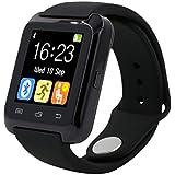 Smartwatch Reloj Inteligente U80 Ideal para Deportes con Contador de Calorías, Podómetro, Recibe Notificaciones, Llamadas y Mensajes (Solo Android)