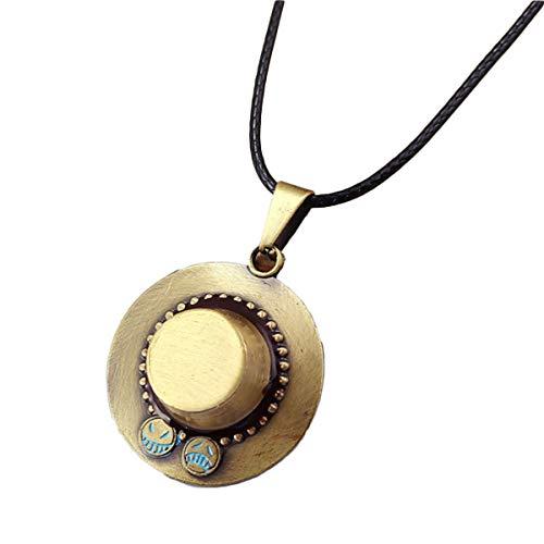 one piece ace necklace - 6