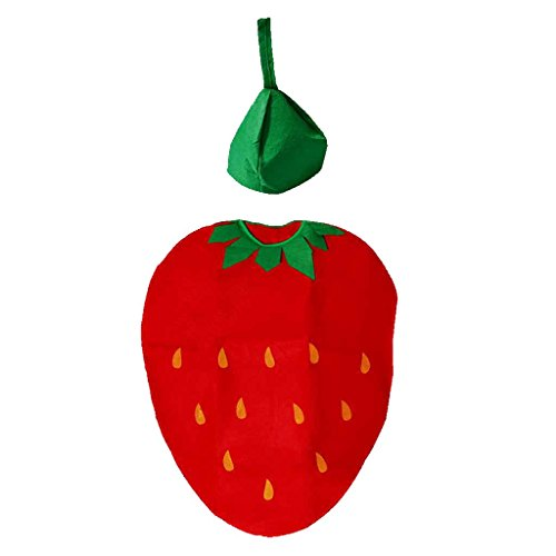(Fruit Vegetables Costume Suits Party Clothing Costumes for Kids Party Cosplay Dress Up -)