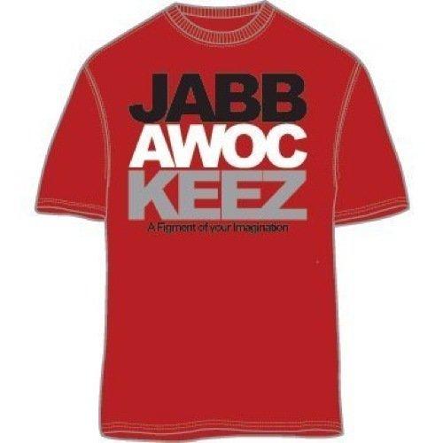 Jabbawockeez Dance Stack Logo Red T-shirt (Jabbawockeez Costume)