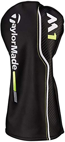 TaylorMade New 2017 M1 Black/White/Lime Green Leather Driver Headcover