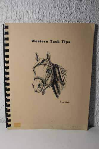 Western tack tips (Tom Combs)