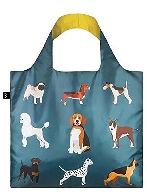 LOQI Dogs Woof Shopping Bag