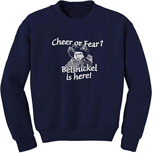 Crew Belsnickel Cheer or Fear Adult Medium Navy ()