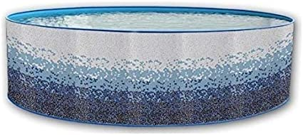 TOI - Piscina desmontable redonda decorada modelo trencadisc ...