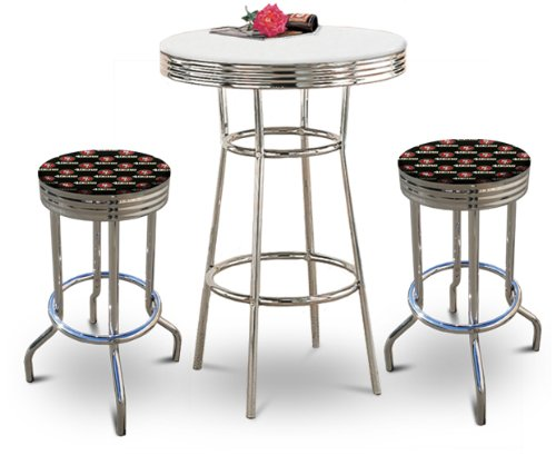 49ers pub table san francisco 49ers pub table 49ers pub tables great new bistro bar stool set the seats are 29 tall and feature a watchthetrailerfo