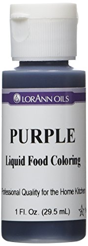 Purple Liquid Food Color