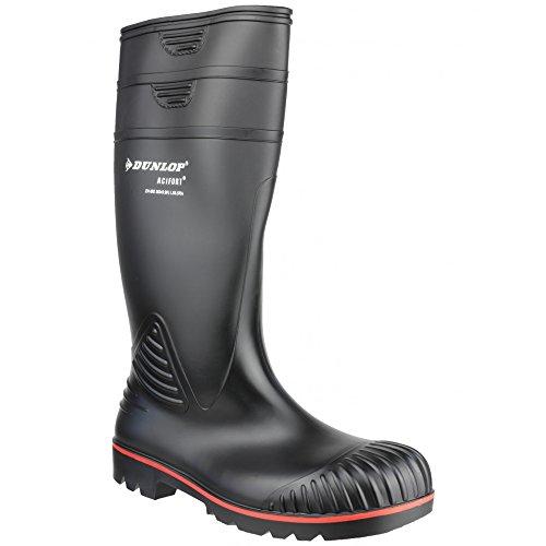 A442031 Zwart Knie Stivali Unisex Di Gomma Nero 48 Acif S5 Dunlop RFqwaa