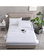 Mohap Sheets Set 4pcs Grey/White/Black/Yellow/Coral Upgrade Thickening 90GSM