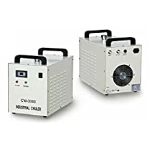 S&A Water Chiller for 60W 80W Laser Tube Engraver Cutter AC110V CW-3000DG