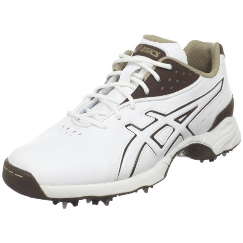 ASICS Women's GEL-Tour Lyte Golf Shoe,White/Coffee/Taupe,9 M (Gel Golf)
