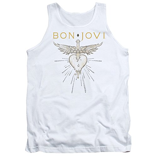 Bon Jovi Greatest Hits Unisex Adult Tank Top for Men and Women ()