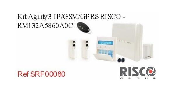 Kit agility3 IP/GSM/GPRS Risco - rm132 a5860 a0 C: Amazon.es: Bricolaje y herramientas