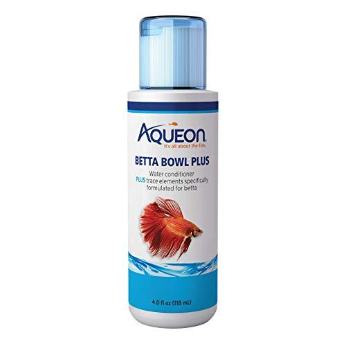 Aqueon Betta Bowl Plus Aquarium Tap Water Conditioner, ()