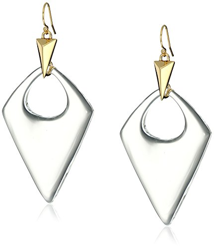 (Alexis Bittar Pointed Pyramid Drop Earrings )