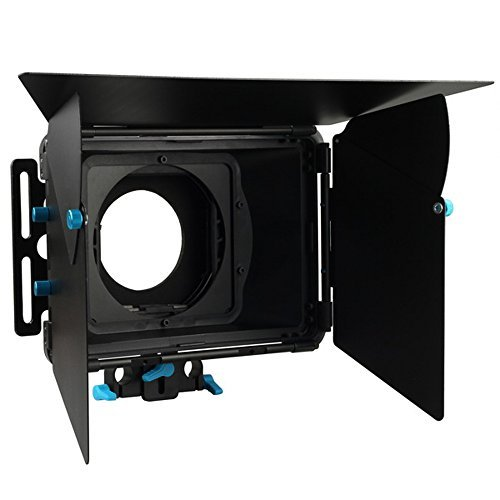 Matte Filter Dv Box - FOTGA DP3000 M2 15mm Rod Rig Matte Box with Donuts Filter Holders for Video Camcorder Camera DV DSLR Cameras