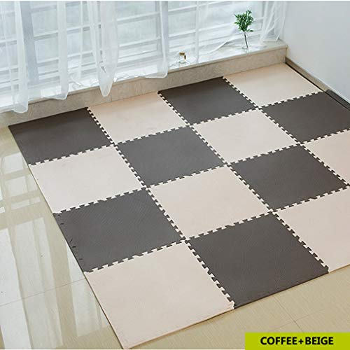 12pcs Baby EVA Foam Puzzle Play Mat/Kids Rugs Carpet Interlocking Exercise Floor for Children Tiles 30x30x1cm by RXIN