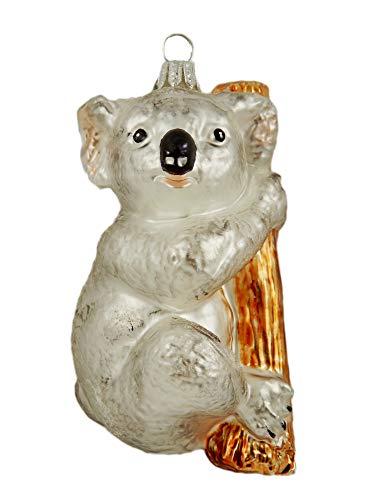 Koala Australia Animal Polish Glass Christmas Ornament Travel