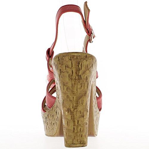 Vassoio quadrato Reef sandali tacco 11,5 cm e 4cm
