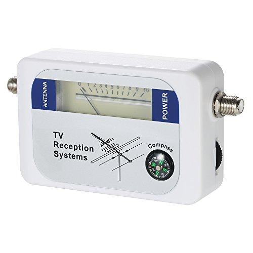 - Signal Detector, KKmoon Satellite Signal Finder Satellite Signal Meter Mini TV Antenna Satellite Signal Finder Meter with Compass