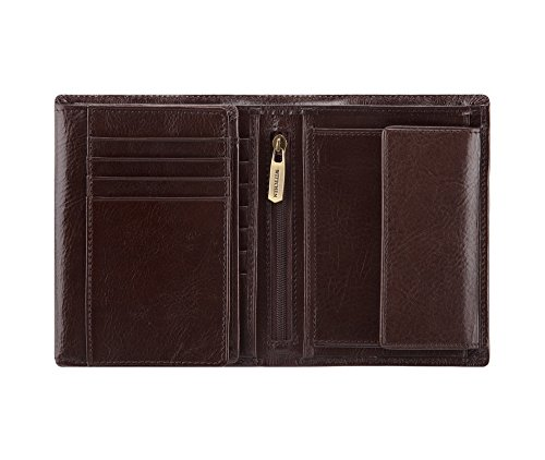 Brieftasche Wittchen 11x13 Kollektion Vertikal 221 Italy Orientierung CM 21 1 Größe Braun 4 Farbe Narbenleder Material ddvYrwq