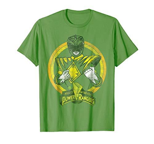 Power Rangers - Green Ranger Character T-Shirt ()