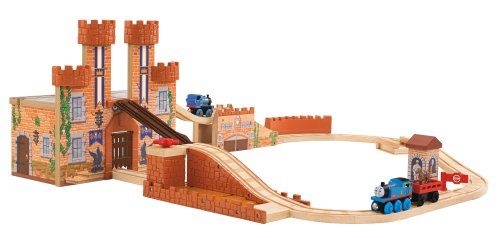 Wooden Castle Playset - 9
