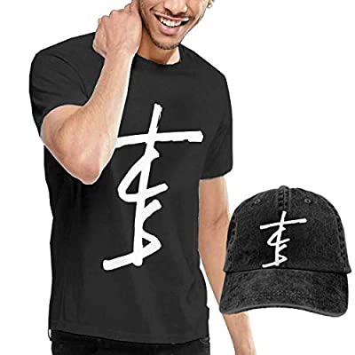 WXZDH Chain-Smokers Music Men Comfortable T Shirt and Hats Combination Black