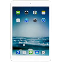 Apple iPad Mini 2 with Retina Display MF083LL/A (32GB, Wi-Fi + Cellular, White with Silver) (Certified Refurbished)