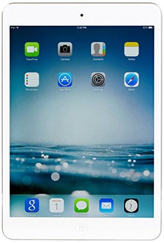 Apple iPad mini 2 with Retina Display MF083LL/A (32GB, Wi-Fi + Cellular, White with Silver) (Renewed)