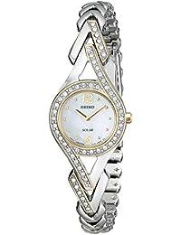 Women's SUP174 Swarovski Crystal-Accented Two-Tone Solar Watch