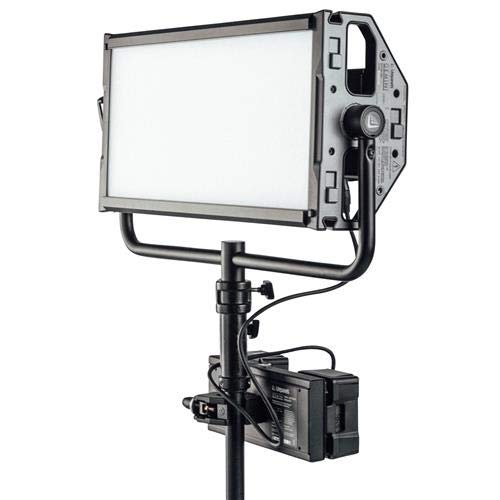 Litepanels Gold-Mount Dual Battery Bracket for Gemini 2x1 Soft LED Panel by Litepanels (Image #2)