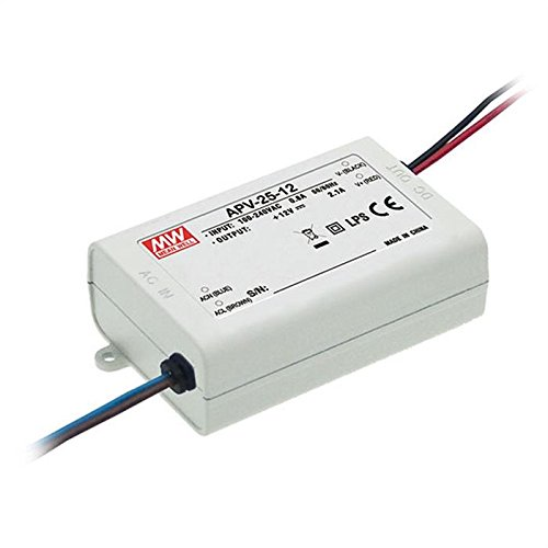 Mean Well 25W 350mA CC LED Driver APC-25-350