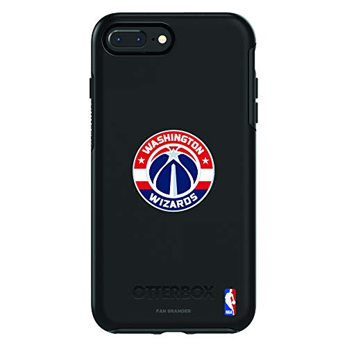 Fan Brander NBA Phone case Compatible with Apple iPhone 8 Plus and Apple iPhone 7 Plus and OtterBox Symmetry Series (Washington Wizards)
