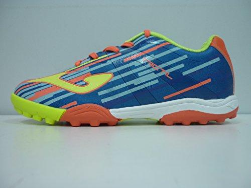 Joma - Zapatillas de fútbol sala de Material Sintético para niño azul claro