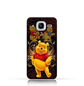 Samsung Galaxy J2 2016 TPU silicone Protective Case with Winnie the Pooh Design