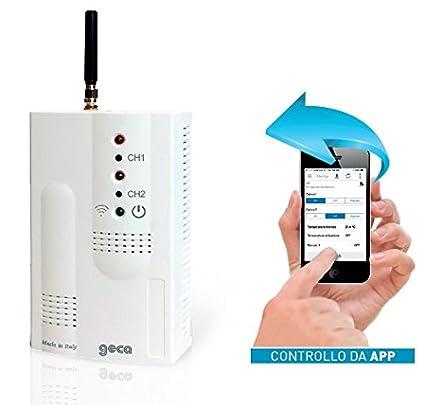 Activador/Controlador GSM de consumo eléctrico a través de ...