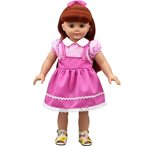 Shero Shero 14-16 Inches Baby Doll's Clothes Pink Flower ...