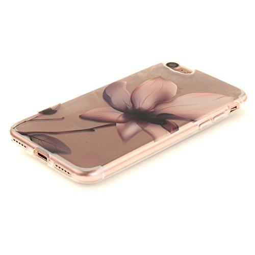 MOONCASE iPhone 7 Hülle Case,Slim Handyhülle Schutzhülle Rutschfestem TPU Soft Backcover Bumper Case für iPhone iPhone 7 TX34