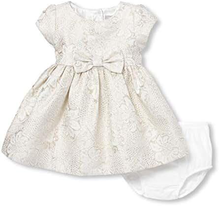 The Children's Place Girls' Baby Short Sleeve Dressy Dress