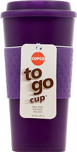 Copco Acadia Travel Mug, 16-Ounce, Translucent Purple 16 Oz Translucent Travel Mug
