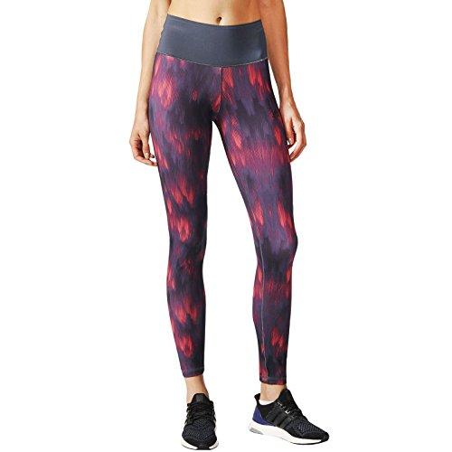 Gris Adidas Long Multicolore Collant Femmes High Course Foncé Printed De Rouge Vêtements Rise Tight Running fwZ4qPf