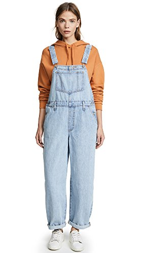 Misses Levi Jeans (Levi's Women's Baggy Overalls, Miss Twin Peaks, Large)