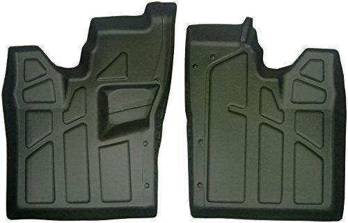 Polaris RZR 570, 800 & 900 Front Floor Mats/Liners with Heel Pocket