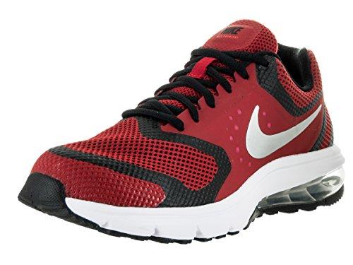 NIKE Kids Air Max Premiere Run (GS) Gym Red/Mtllc Slvr/Blk/Brght Cr Running Shoe 6 Kids US